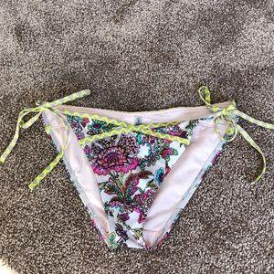 Small VS floral bikini bottom